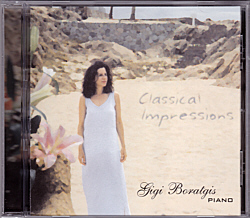 Gigi Boratigis - Classical Impressions CD Cover Scan 250