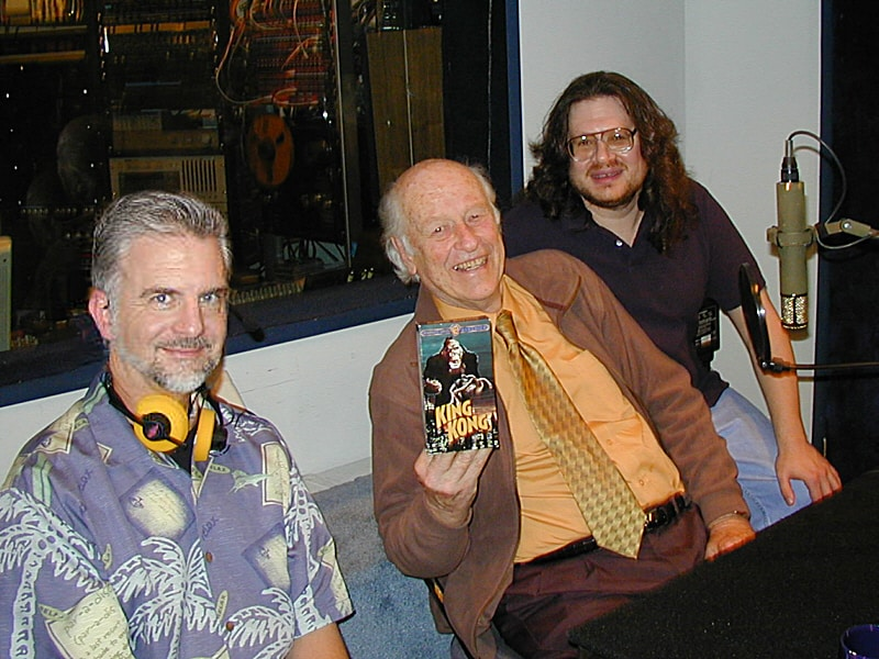 "Special Effects wizards Ken Ralston and Ray Harryhausen (with special feature director Scott Essman) recorded their commentary tracks at Theta Sound Studio for the Special Collector's Edition DVD release of the original ""King Kong"" movie. The session involved projecting the ""King Kong"" movie onto our six-foot screen with audio coming through the headphones as a reference while Ken and Ray discussed how the various effects were created, and how inspired they were by the film's effects artists and technicians which ultimately led Ken and Ray into the world of movie magic!"