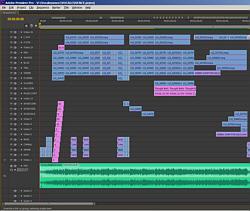Vocalessence - Premiere Pro Timeline 250