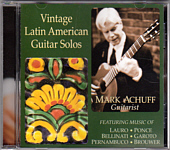 "Mark Achuff ""Vintage Latin American Guitar Solos"""