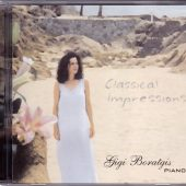 """Pianist Gigi Boratgis recorded her debut album """"Classical Impressions"""" at Theta Sound Studio. The CD package was also designed in house and we oversaw the manufacturing of the finished product."""