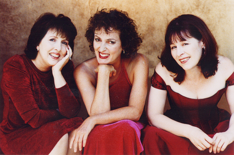 """Hot Mamas"" is a musical about three women going through ""the change."" Written by R.F. and Nancy Daley, it stars Nancy, Sisu Raiken and Colleen McNamara who descended upon Theta Sound Studio to record the highly entertaining original cast show album here."