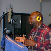 Isaac Hayes came to Theta Sound to record some PSAs (public service announcements) for the World Literacy Crusade which takes private tutors trained in the study technology developed by author and humanitarian, L. Ron Hubbard, and teaches inner-city youth how to overcome the barriers to learning and study. These youth then turn around and teach others the same techniques. The World Literacy Crusade was acknowledged as the most effective learning program of its kind and Isaac was honored by the NAACP with a prestigious award for his efforts.