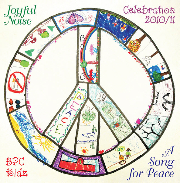 """A Song for Peace"" is the name of the first album by Joyful Noise BPC Kidz. Recorded at Theta Sound Studio, the album features new songs by the choir's director, Susan Kohler."