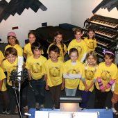 Joyful Noise BPC Kidz is the children's choir from Brentwood Presbyterian Church in Los Angeles.Their director, Susan Kohler, brought the choir to Theta Sound to record their first CD, and they had a really fun time doing it!