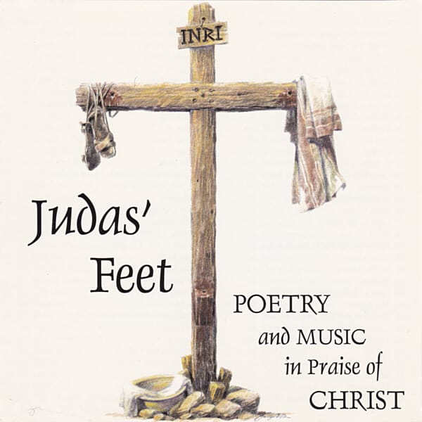 Judas' Feet is a four-CD work of poetry and music, based on the book of the same name. Written and narrated by the author, Clay, with music composed and performed by Jamal Haqq.