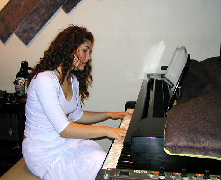 """Morgan Kibby brought her unique songs and persona to Theta Sound Studio where Randall Michael Tobin helped her realize her vision. Morgan pushed the creative envelope and Randall was up to the task, producing four mesmerising tracks: """"Hard to Be Me,"""" """"Fire to Start,"""" """"Prove It,"""" and """"La Mer Enchanter."""""""