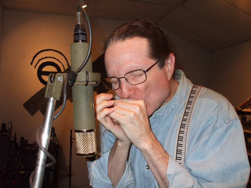 Blues harp is an expressive instrument which Randall picked up around the age of 15 and continued to practice and improve to the point where his recent performances with various L.A. bands have elicited much applause.