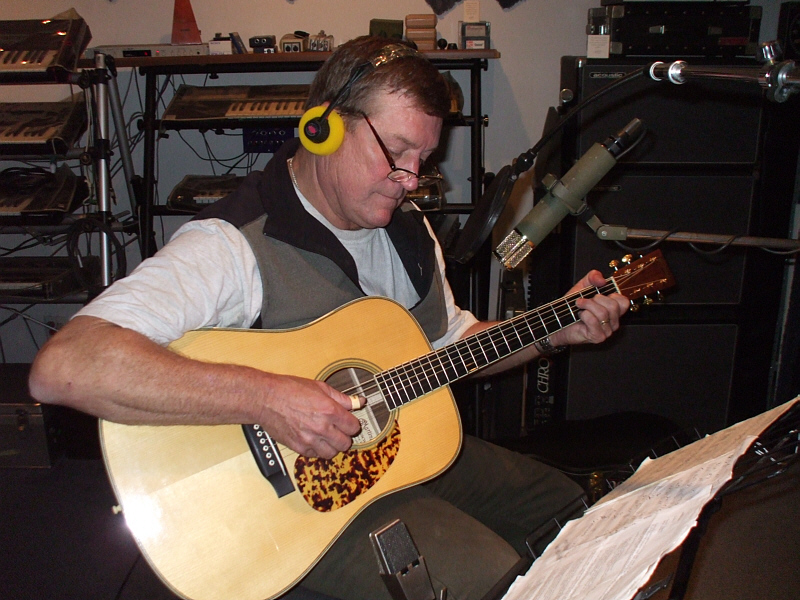 Reeve Ricard is a retired Burbank police officer who has always had his hand in singing, songwriting and playing fine acoustic guitar.
