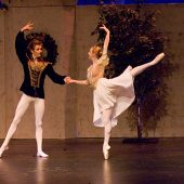 "Prince and Princess pas de deux from Act One of The Snow Queen Ballet (8th season). <a href="" http://calballet.com/upcoming-performances/snow-queen/"" target=""_blank"">Snow Queen Web Site</a>"