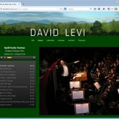 "David Levi is an American orchestra conductor who lives in Paris, France. He travels the world conducting orchestras for concerts and operas. David's web site is really two web sites in one: English and French! Visit <a href=""http://davidlevimusic.com"" target=""_blank"">davidlevimusic.com</a> to see more of this web site."