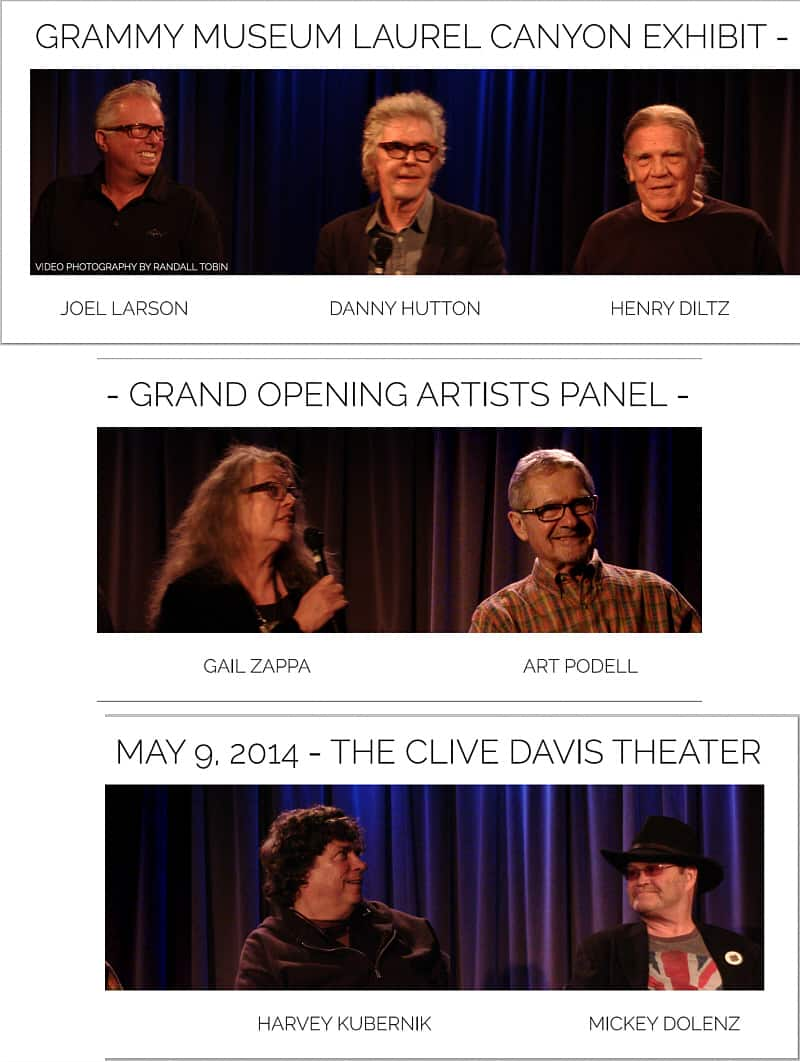 GRAMMY MUSEUM LAUREL CANYON PANEL - Vertical Layout 600