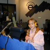 """Jessy Terrenzi was on a mission when Valerie Fahren sent her to Theta Sound Studio to record her first record, a song she and Valerie and Randall Michael Tobin wrote called """"When You Fly Across the Sea."""""""
