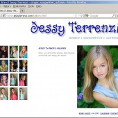 Jessy's website was the last piece of the project for Randy to design and build. It starts with an animation and a clip from the song, then features a photo gallery, a credits listing, and a page where people can buy the CD single or download the track!
