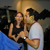Laura Leifield and Jake Moreno really got into Jake's animation voice-over reel recording with a really funny script written by Jake.