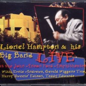 Lionel Hampton & his Big Band LIVE was recorded at the John Anson Ford Amphitheatre when Lionel was a mere 90 years old! Producers Lloyd Rucker and W. Prince Moore brought the recordings to Randy Tobin at Theta Sound Studio for editing and mastering. The resulting 2-CD set is a testament the the percussion legend and the many musician friends who appeared on the stage that night to celebrate Lionel and his jazz legacy.