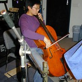 Cellist, Melody Yenn, was introduced to us by composer Carol Worthey, who accompanied Melody for one of Carol's original works.