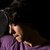 """Pierce Driessen is a quintuple threat artist (singer, songwriter, guitarist, dancer, actor) who came to Theta Sound to record a live acoustic cover version of Justin Bieber's """"As Long as You Love Me"""" which was simultaneously videoed and later edited by Randy Tobin for YouTube release."""