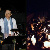 "Snow Queen composer Randall Michael Tobin conducting a live orchestra for the 3rd season of The Snow Queen Ballet. <a href="" http://calballet.com/upcoming-performances/snow-queen/"" target=""_blank"">Snow Queen Web Site</a>"