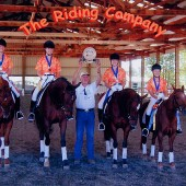 "Michele Purpora-Tardi of Robele Farms Riding Academy commissioned Randall Michael Tobin to write music for her Equestrian Quadrille team (four horses and riders performing dressage-style gates and maneuvers to music). She explained the costume theme for that year and provided a videotape of the routine. The music was scored using that tape as a guide for tempo changes, and the finished piece was named Caribbean Carnivál. After their performance in Paso Robles, California, The Riding Company at Robele Farms won the National Championship in their class! You can see a video of that routine performed at the Los Angeles Equestrian Center <a href=""https://www.thetasound.com/?gallery=video-production#quadrille"" target=""_blank"">here</a>."